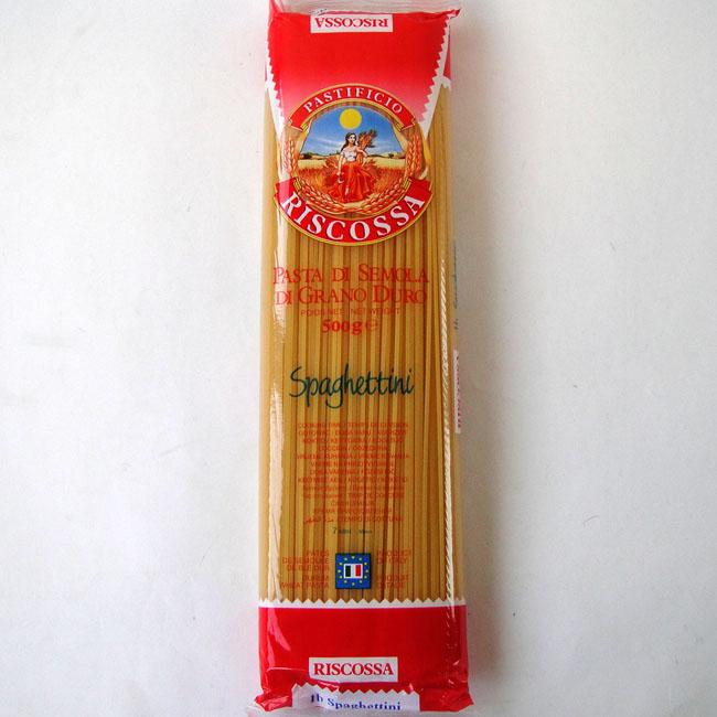 リスコッサ スパゲッティー 1.4mm イタリア産 美品 訳あり商品 500g
