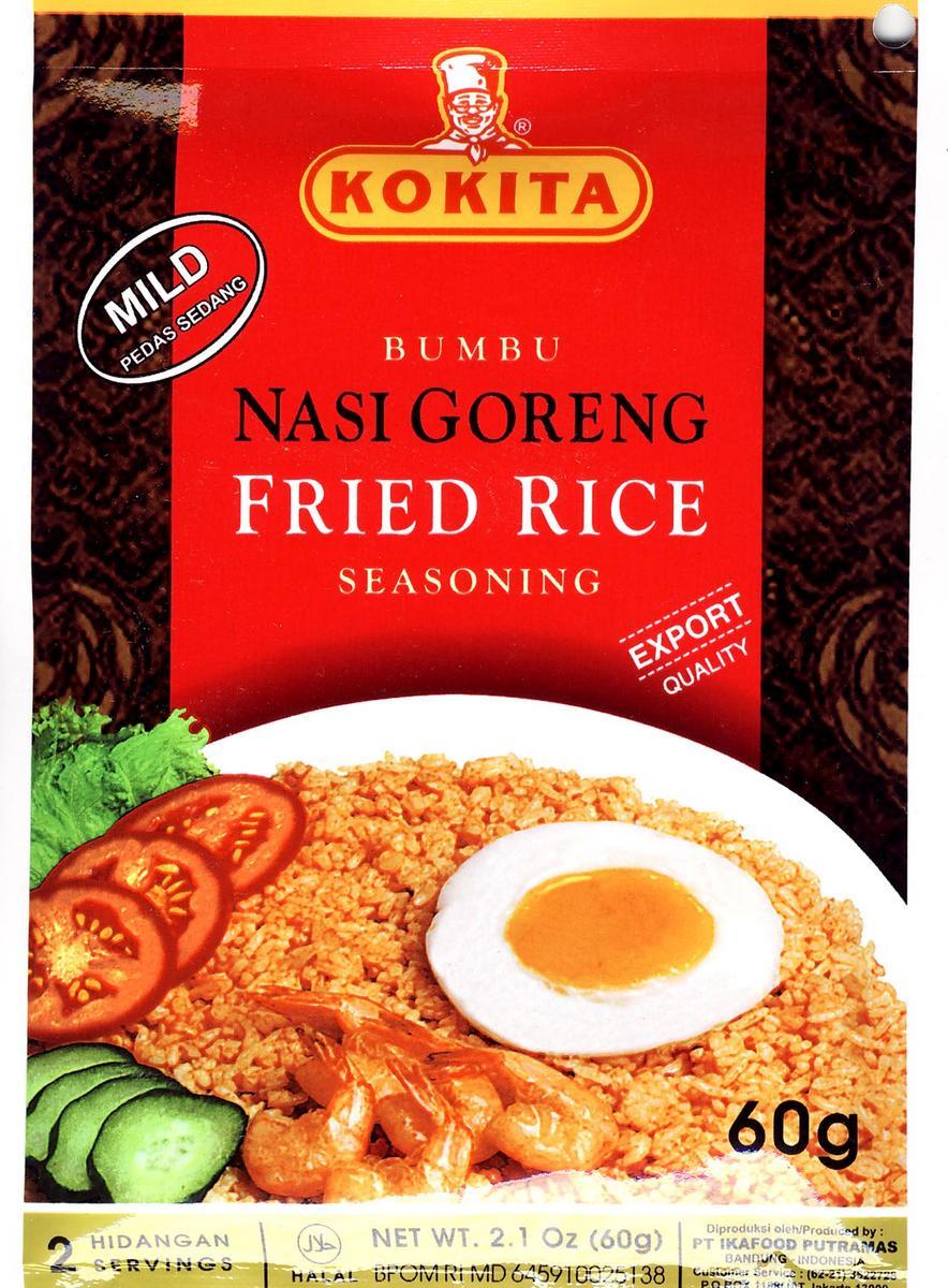 コキタ ブンブナシゴレン 60g/袋 インドネシア料理