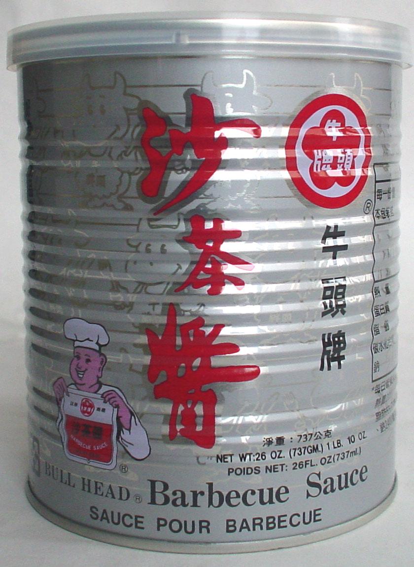 【まとめ買い】 牛頭牌 沙茶醤 サーチャージャン 台湾産 250g x24缶 (賞味期限:20221209)
