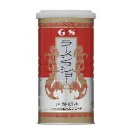 店内限界値引き中&セルフラッピング無料 GS ラーメンコショー 人気の製品 拉麺胡椒 丸缶 日本国産 te15 90g