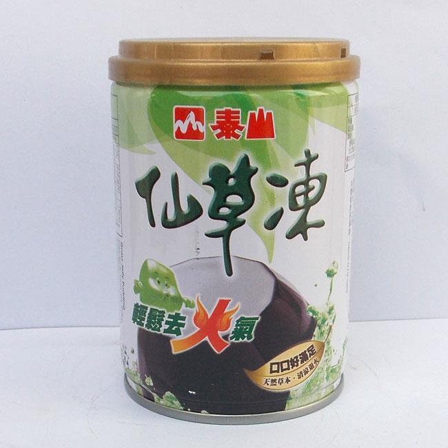 (代引不可 送料無料)泰山 仙草凍255g/4缶 台湾産仙草ゼリー 加糖タイプ産