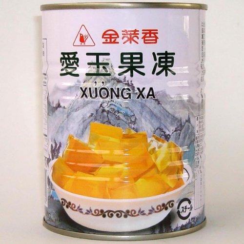 (代引不可 送料無料)金莱香 愛玉果凍 540g/缶詰 台湾産愛玉ゼリー