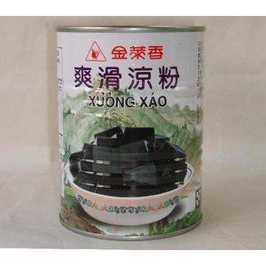金莱香 爽滑涼粉 540g/缶 仙草ゼリー 台湾産仙草果凍(他にお得な代引不可・送料無料の登録あり)
