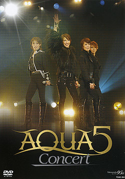 【宝塚歌劇】 AQUA5 Concert 【中古】【DVD】
