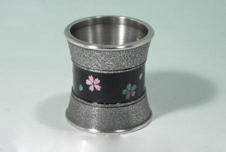【茶器・茶道具/蓋置】金胎漆:桜