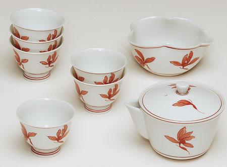 【茶器・茶道具/煎茶道具】煎茶器 赤絵 ランosk_sc_10
