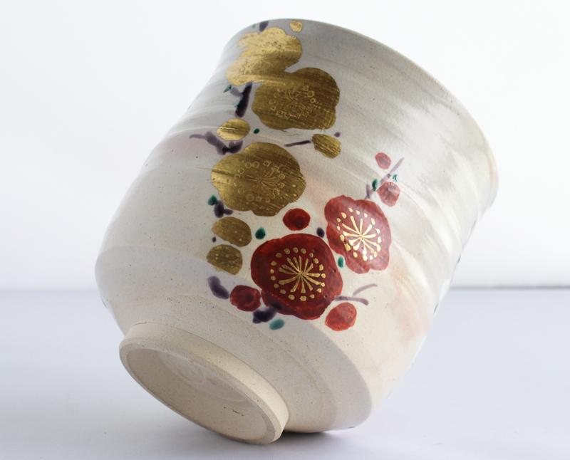 宮川香雲 筒茶碗 茶道・抹茶茶碗