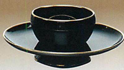 「茶道具・相伝」尼崎台 真鍮縁