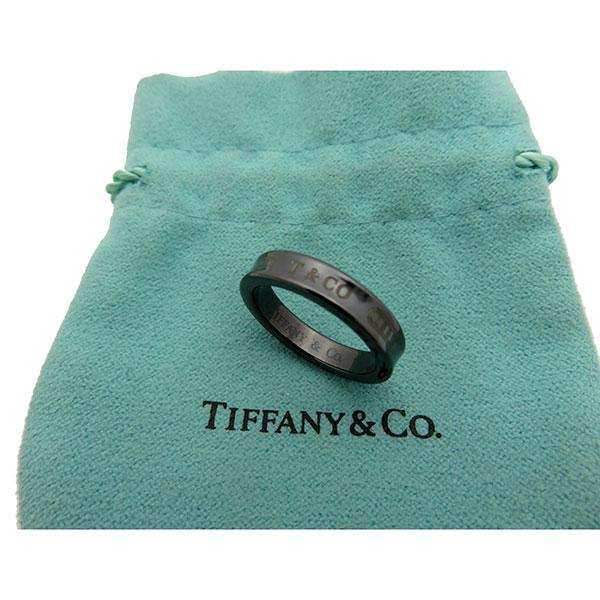 ティファニー Tiffany&Co. ナローリング チタン 中古ランクA レディース 激安 メンズ リング おしゃれ 指輪【全国送料無料】【あす楽対応】【中古】