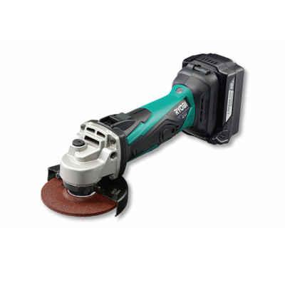 充電式でコンパクト・ハイパワー(18V) リョービ 充電式ディスクグラインダ BG-1810L5パワー グリップ 握りやすい 一定 異常 LED 防塵 DIY 防水