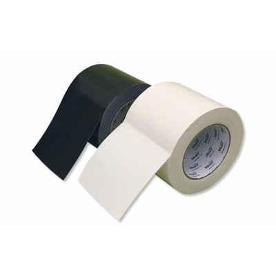工事用布粘着テープ 8002 古籐工業 100mm幅 黒 本物 白強粘着 高耐久 はがれ 耐剛性 のり アスファルト DIY タイル 卸直営 防水 ゴム 補修 改修 固定 コンクリート
