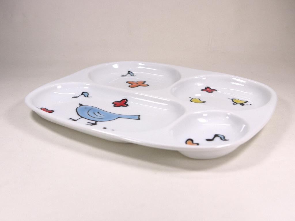大新 とりプレート皿