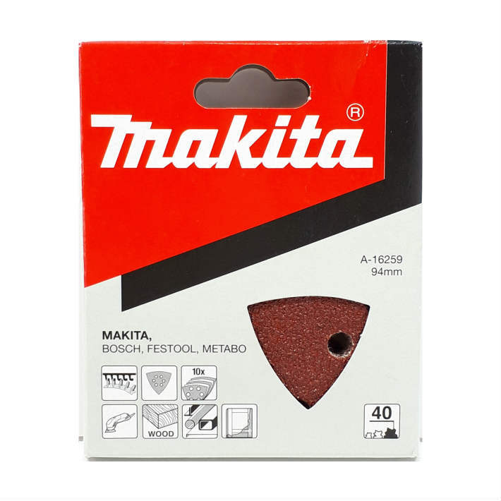 時間指定不可 マキタ マジックサンディングペーパー マジックファスナ式 10枚入 粒度:40 あす楽 No.A-16259 粗仕上 激安特価品 makita