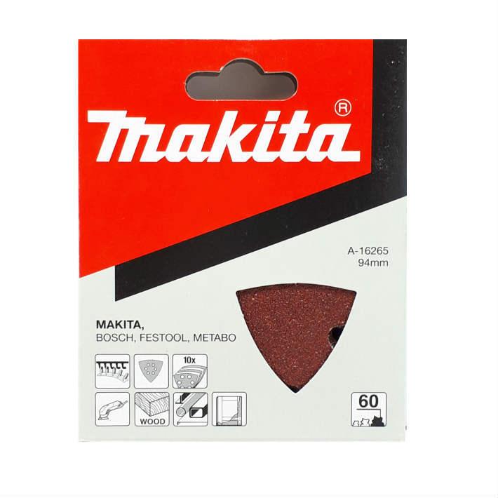 マキタ マジックサンディングペーパー マジックファスナ式 10枚入 粒度:60 あす楽 引出物 新生活 makita No.A-16265 粗仕上