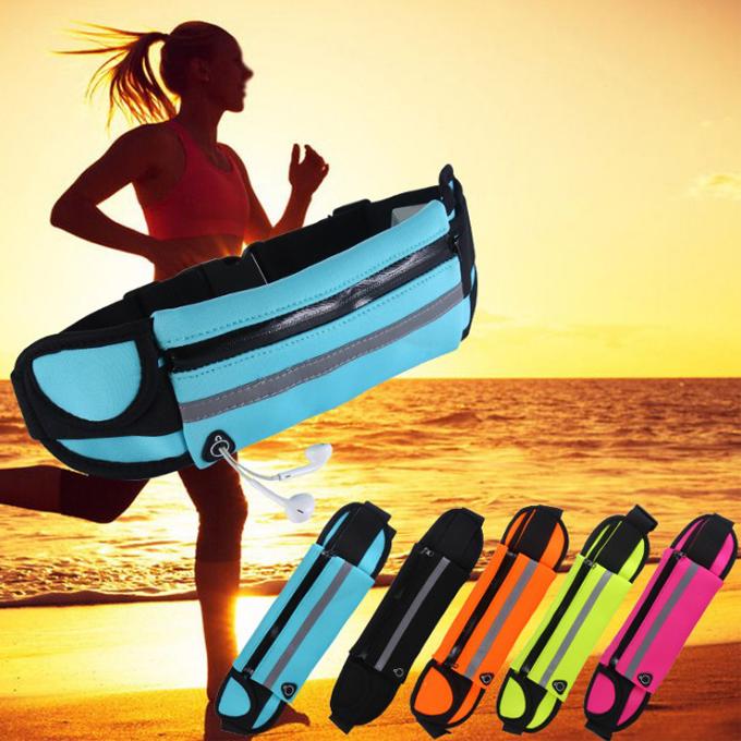 ボトルポーチ 防水  ランニング ウォーキングポーチ ウエストバッグ 運動  ウォーキングポーチ ランニング 防水  ウエストバッグ 運動 5色選択可 送料無料