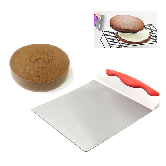 丈夫で衛生的なステンレス製のハンドル シェフランド ビッグピザサーバー 8インチ ピザ調理器具 ピザ作り道具 ステンレス 好み焼き ケーキ 在庫一掃セール