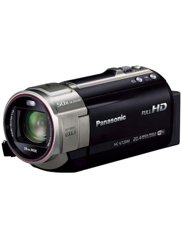 パナソニック『デジタルハイビジョンビデオカメラ』HC-V720M-K ブラック 1MOS 64GB Wi-Fi対応【新品】b00e/N