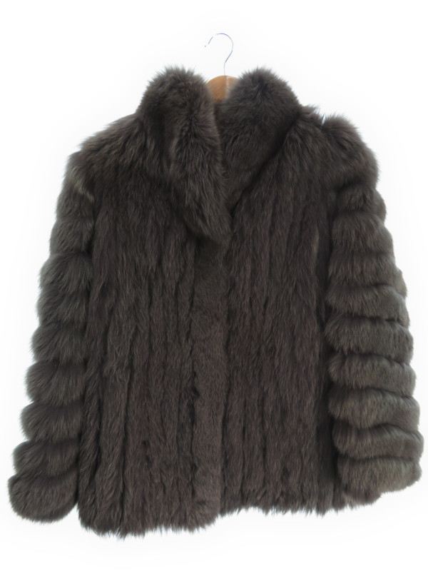 【SAGA FOX】【アウター】サガフォックス『毛皮コート size11』レディース 1週間保証【中古】b03f/h04AB