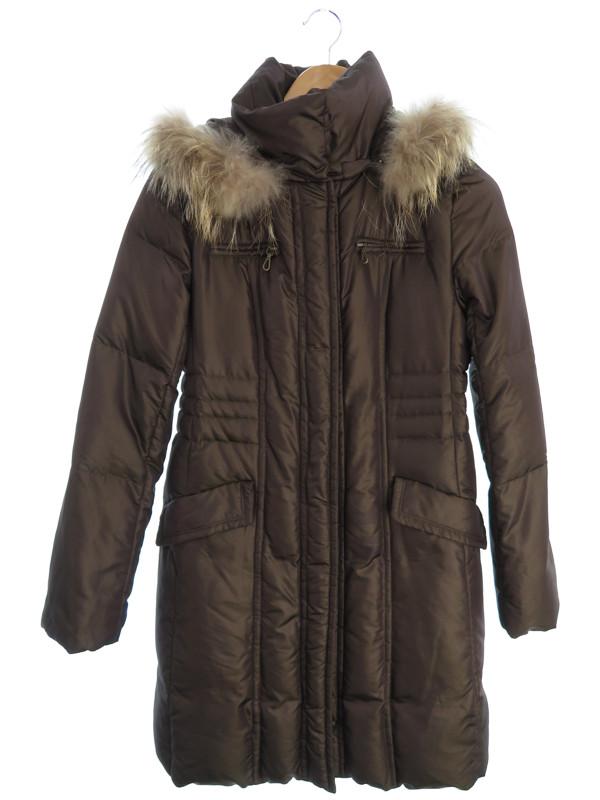 UNTITLEDジャケット アンタイトル ファー付ダウンコート size2 レディース ジャケット 1週間保証b06f hqUpGLMSVjz
