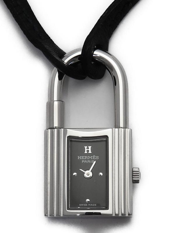 【信頼】 【HERMES】【電池交換済】エルメス『ケリーウォッチ』KE1.210 レディース クォーツ 1週間保証【】b02w/h13AB, プロコスメ a25446f5
