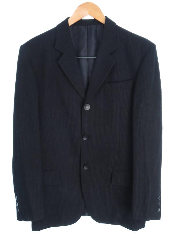 【Jean Paul Gaultier Classique】【上下セット】ジャンポールゴルチエ『ストライプ柄スーツ size46』メンズ セットアップ 1週間保証【中古】b03f/h20AB