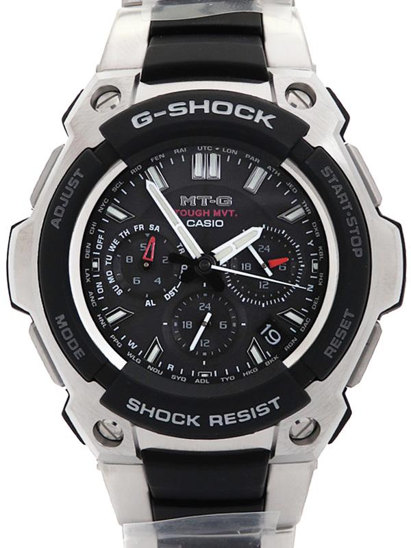 【CASIO】【G-SHOCK】カシオ『Gショック MT-G』MTG-1200-1AJF メンズ ソーラー電波クォーツ 1週間保証【中古】b03w/h19S