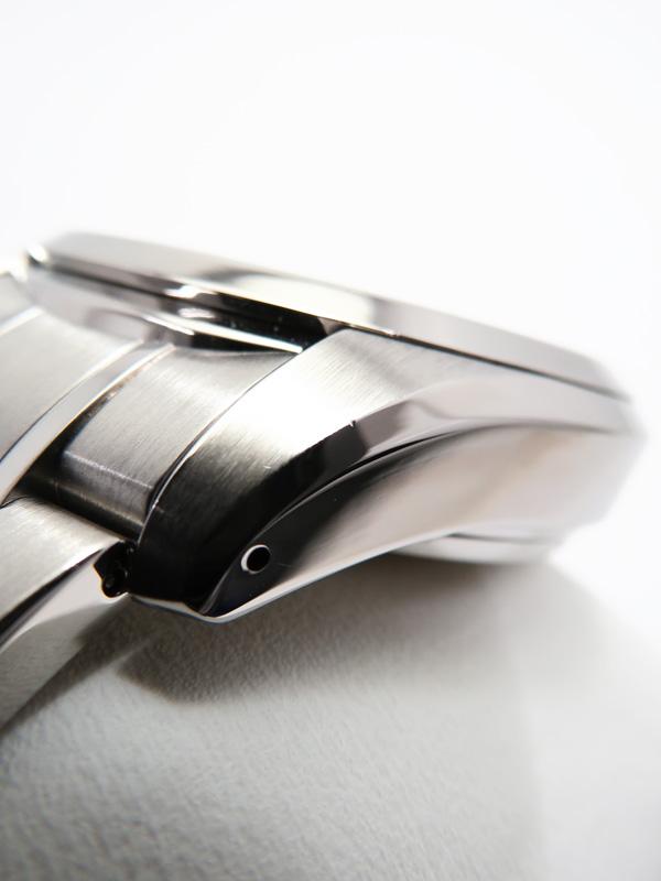 SEIKO裏スケ セイコー グランドセイコー パワーリザーブ SBGA001 9R65 0AA0 5D番 メンズ スプリングドライブ 3ヶ月保証b03w h12ACreWxodB