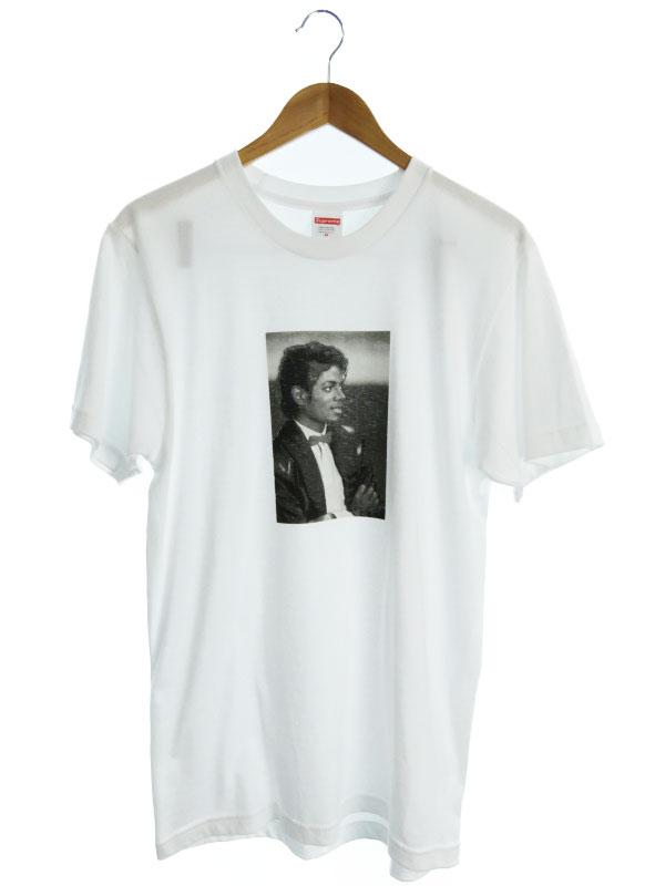 【Supreme】【トップス】【17SS】【Michael Jackson Tee】シュプリーム『半袖Tシャツ sizeM』メンズ 1週間保証【中古】b02f/h22AB