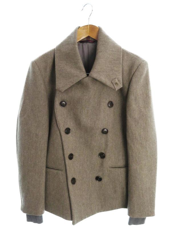 【PaulSmith 】【アウター】ポールスミス『ショートウールコート sizeS』メンズ 1週間保証【中古】b01f/h20AB