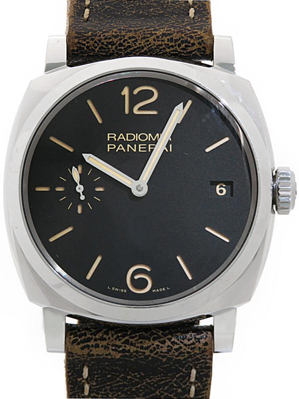 【PANERAI】【裏スケ】パネライ『ラジオミール 1940 3デイズ』PAM00514 P番'13年製 メンズ 手巻き 6ヶ月保証【中古】b03w/h00AB