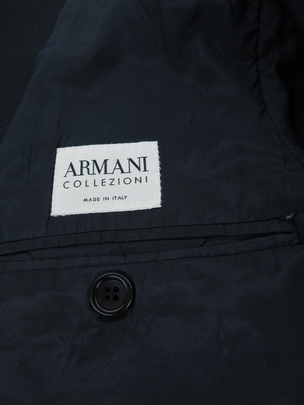 b070e135fbec3  ARMANI COLLEZIONI  2ピース  アウター  イタリア製 アルマーニコレッツォーニ『スーツ上下セット size46』メンズ  1週間保証  b05f h19AB