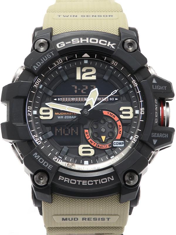 【CASIO】【G-SHOCK】【'17年購入】カシオ『Gショック マッドマスター』GG-1000-1A5JF メンズ クォーツ 1週間保証【中古】b06w/h17A