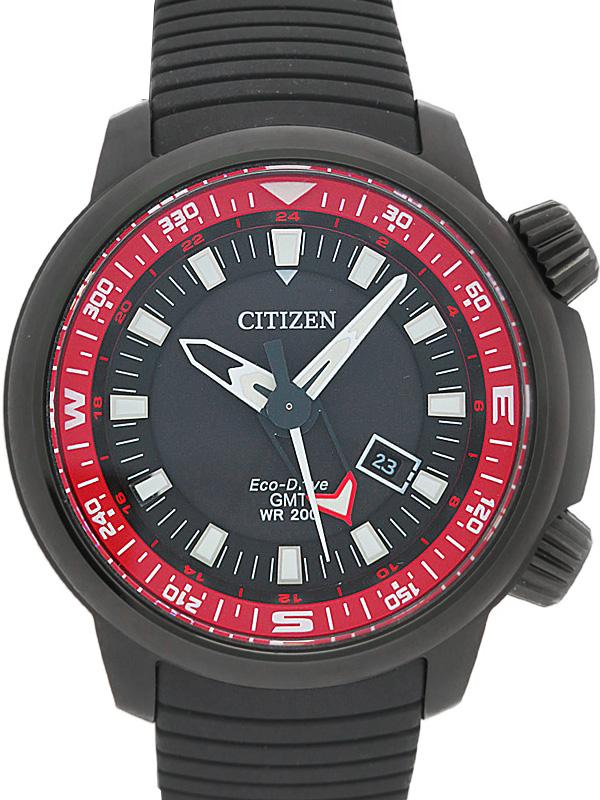 【CITIZEN】【海外モデル】シチズン『エコドライブ ダイバーズ』BJ7086-09E メンズ ソーラークォーツ 1週間保証【中古】b02w/h03A