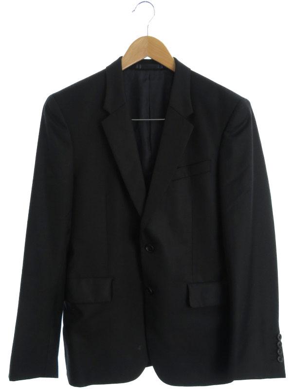 【Paul Smith LONDON】【ロロピアーナ】【FOUR SEASONS】【SLIM】【上下セット】【ベスト付】ポールスミス『3ピース スーツ sizeM』メンズ セットアップ【中古】b01f/h18AB