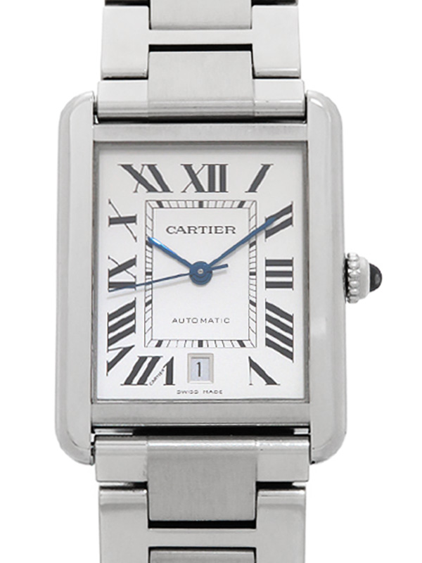 【Cartier】【仕上済】カルティエ『タンクソロ XL』W5200028 メンズ 自動巻き 3ヶ月保証【中古】b01w/h02A