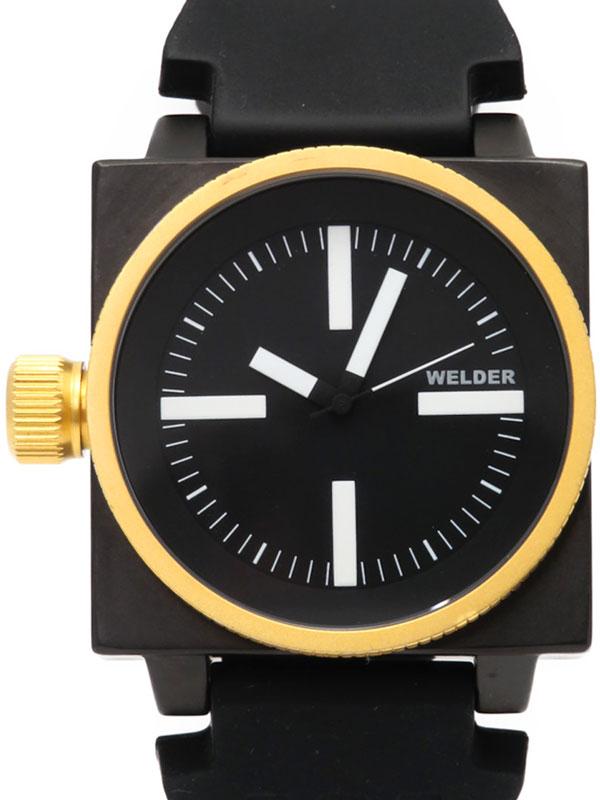 【WELDER】ウェルダー『K-26 シリーズ』K26-5101 メンズ クォーツ 1週間保証【中古】b03w/h12A