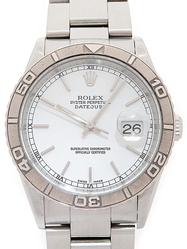 【ROLEX】【内部点検済】ロレックス『デイトジャスト サンダーバード』16264 F番'04年頃製 メンズ 自動巻き 12ヶ月保証【中古】b01w/h02AB