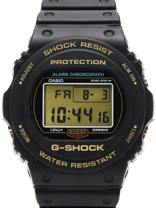 【CASIO】【G-SHOCK】【35周年記念モデル】カシオ『Gショック』DW-5735D-1BJR メンズ クォーツ 1週間保証【中古】b06w/h06A
