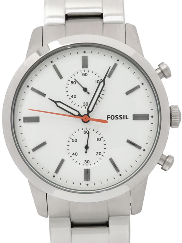 【FOSSIL】フォッシル『タウンズマン』FS5346 メンズ クォーツ 1週間保証【中古】b02w/h13A