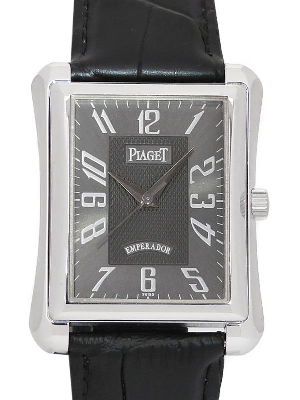【PIAGET】【WGケース】【仕上済】ピアジェ『エンペラドール』P10040 メンズ 自動巻き 3ヶ月保証【中古】b05w/h22A