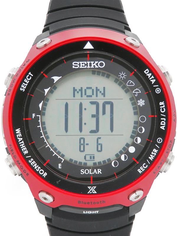 【SEIKO】【1000本限定】【Bluetooth対応】セイコー『プロスペックス ランドレーサー』SBEM001 S833-00A0 73****番 メンズ ソーラークォーツ 1週間保証【中古】b01w/h04A