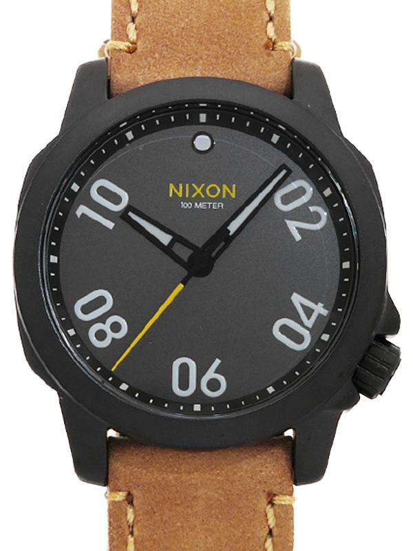 【NIXON】【美品】ニクソン『レンジャー40』NA4712093-00 メンズ クォーツ 1週間保証【中古】b02w/h03SA