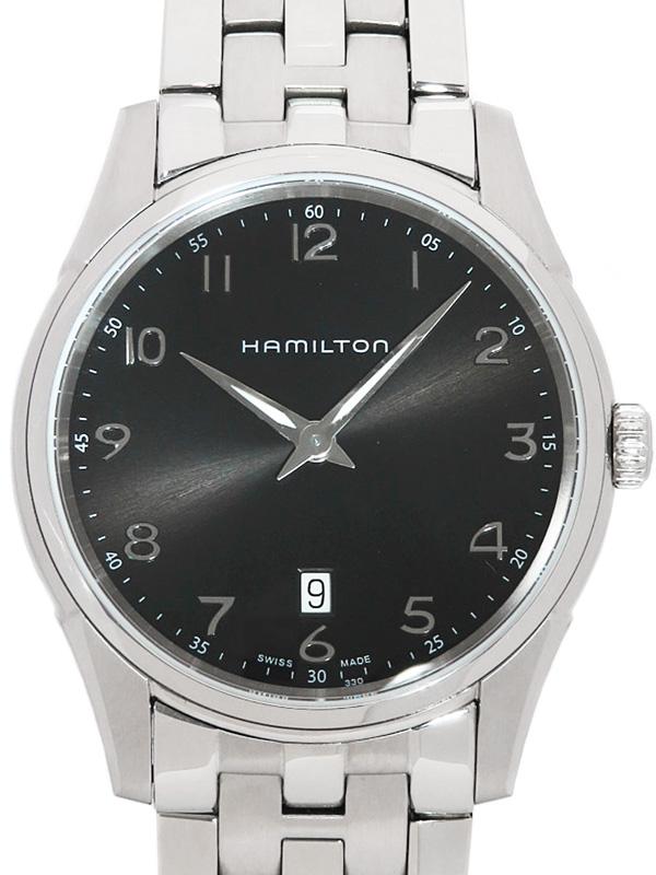【HAMILTON】ハミルトン『ジャズマスター シンライン』H38511133 メンズ クォーツ 1週間保証【中古】b02w/h07A