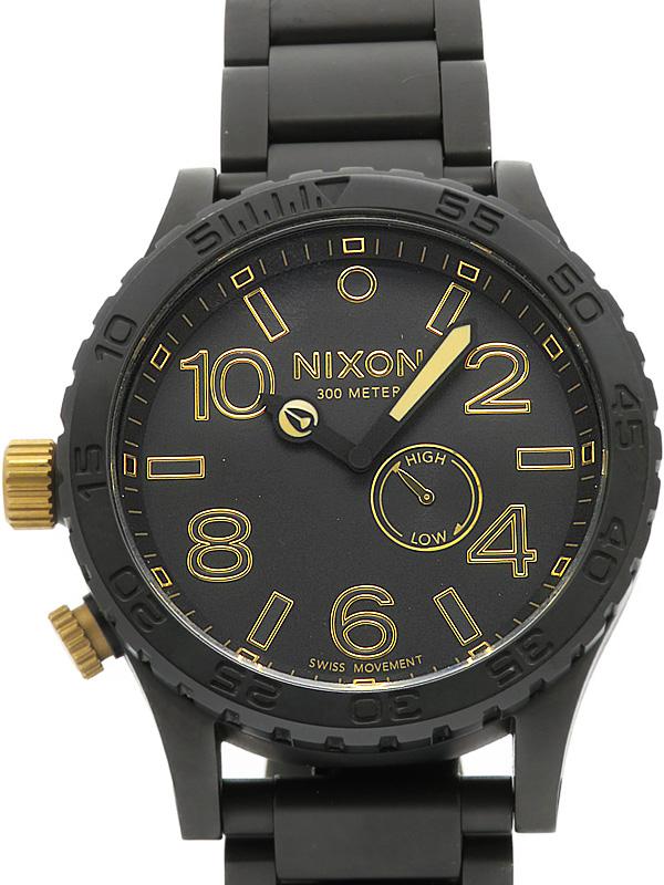 【NIXON】【電池交換済】ニクソン『THE51-30 タイド』A057-1041 メンズ クォーツ 1週間保証【中古】b03w/h14A