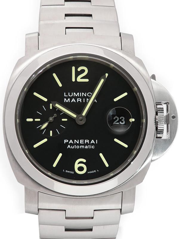 【PANERAI】パネライ『ルミノールマリーナ 44mm』PAM00299 K番'08年製 メンズ 自動巻き 6ヶ月保証【中古】b05w/h10A