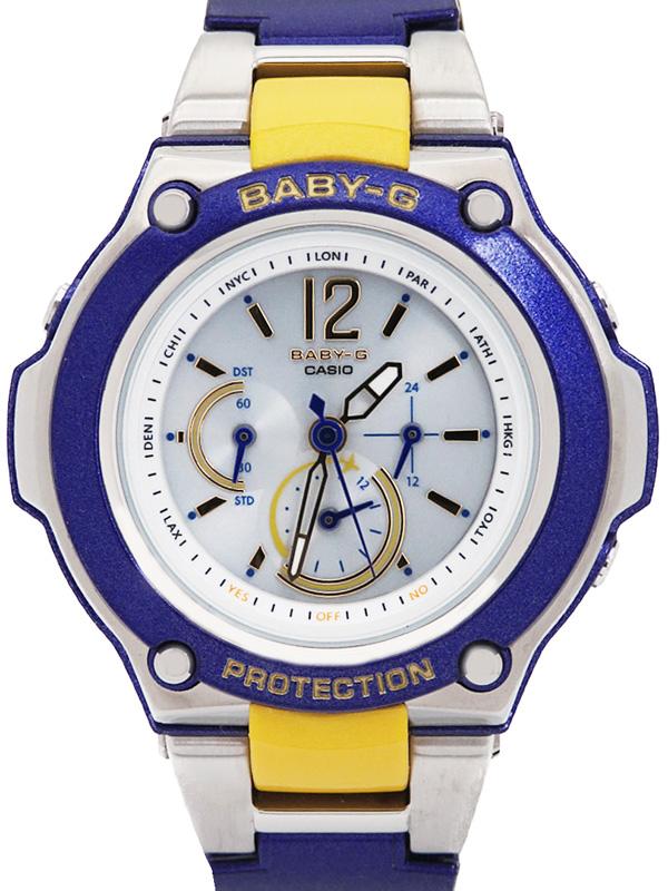 【CASIO】【Baby-G】カシオ『ベビーG トリッパー』BGA-1400-2B2JF レディース ソーラー電波クォーツ 1週間保証【中古】b06w/h06A