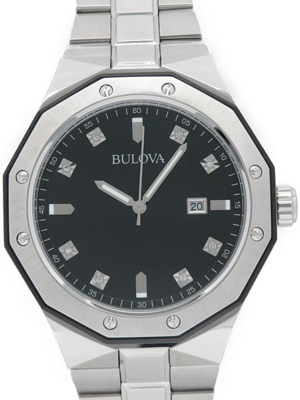 【BULOVA】ブローバ『マリンスター』98D103 メンズ クォーツ 1週間保証【中古】b03w/h16A