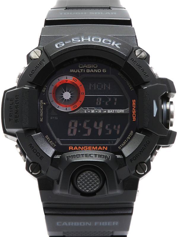 【CASIO】【G-SHOCK】カシオ『Gショック レンジマン』GW-9400BJ-1JF メンズ ソーラー電波クォーツ 1週間保証【中古】b06w/h18A