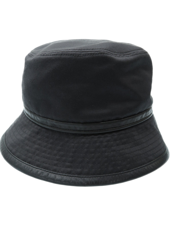 【HERMES】【フランス製】【帽子】エルメス『コットンハット size57』レディース 帽子 1週間保証【中古】b03f/h11AB