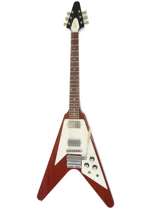 【Gibson CUSTOMSHOP】【工房メンテ済】【Historic Collection】ギブソンカスタムショップ『エレキギター』1967 Flying V w/Maestro 2010年製 1週間保証【中古】b03g/h15AB